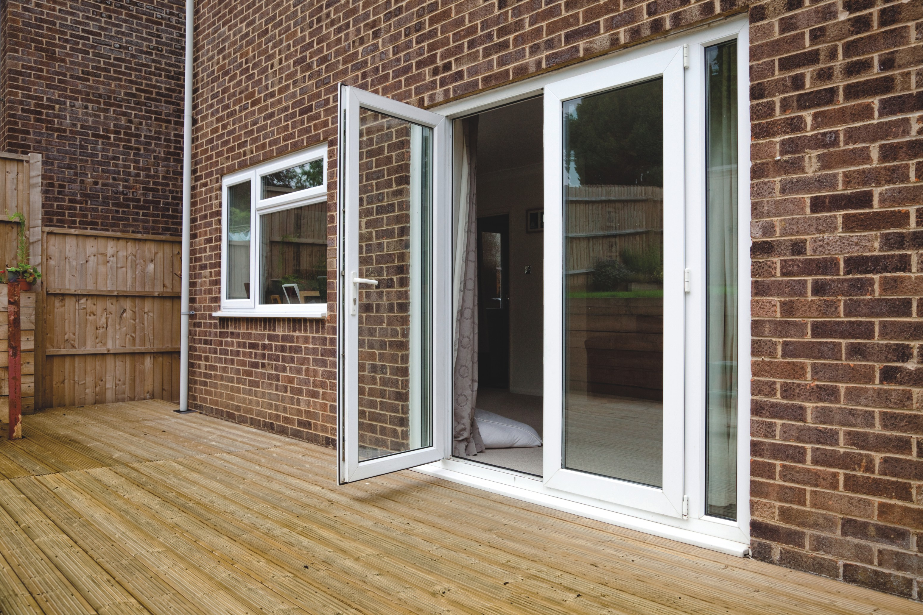 French doors gb windows and doors high wycombe for Double opening patio doors
