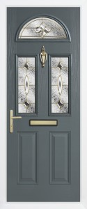Bedford slate grey brass art clarity - Copy